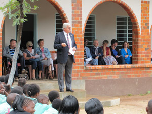 Opening ceremony for new classrooms